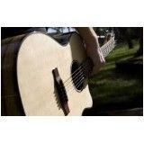 Aula de violão avançada onde fazer no Jardim de Lorenzo