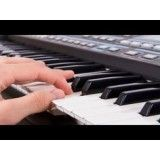 Aula para iniciantes de teclado com preço acessível na Vila Esperança