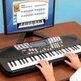Aulas de teclado iniciante valor baixo em Roseira