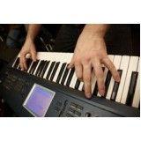 Aulas de teclado iniciante valor na Chácara Santo Estêvão