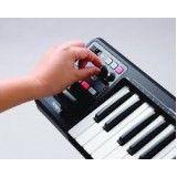 Aulas de teclado para iniciante barata no Lar Nacional