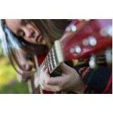 Aulas de violão para iniciante onde achar no Jardim Eliane