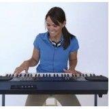 Aulas para iniciantes de teclado com preço baixo na Vila Ema