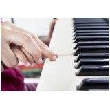 Aulas teclado para iniciantes valor na Vila Gustavo