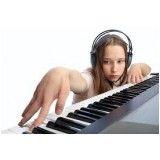 Onde encontrar Aula de teclado iniciantes na Vila Matilde