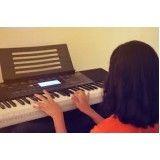 Onde encontrar Aula teclado para iniciantes na Vila Bela Vista