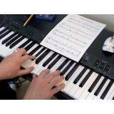 Onde encontrar uma Aula para iniciante de teclado na Vila Santo Antônio