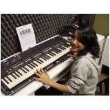 Onde fazer Aula teclado para iniciantes na Vila Matias