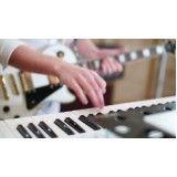 Onde fazer Aulas teclado para iniciantes barata no Jardim dos Ipês
