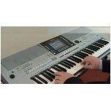 Preço Aula para iniciante de teclado no Jardim Laranjal
