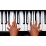 Preço de uma Aula de teclado iniciantes na Vila Escolar