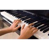 Valor de Aula teclado para iniciantes na Vila Americana