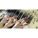 Valor de Aulas práticas de teclado na Vila Belo Horizonte