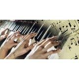 Valor de Aulas práticas de teclado no Jardim São Roberto
