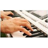 Valor de uma Aula de teclado iniciantes no Jardim São João